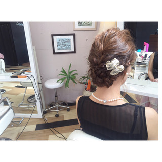 二次会 編み込み 結婚式 ボブ ヘアスタイルや髪型の写真・画像 ヘアスタイルや髪型の写真・画像