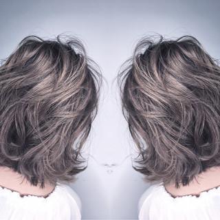 ボブ 外国人風 ナチュラル リラックス ヘアスタイルや髪型の写真・画像