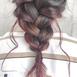 ロング ナチュラル アンニュイほつれヘア デート ヘアスタイルや髪型の写真・画像