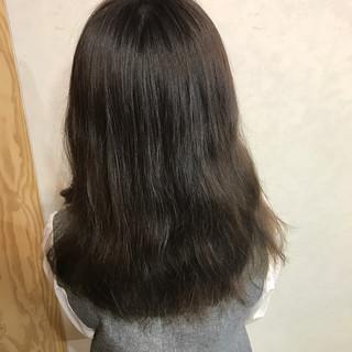 黒髪 外国人風 ガーリー 外ハネ ヘアスタイルや髪型の写真・画像