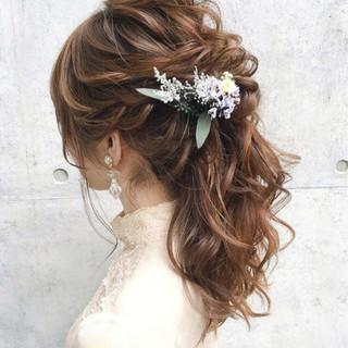 結婚式 大人女子 上品 パーティ ヘアスタイルや髪型の写真・画像