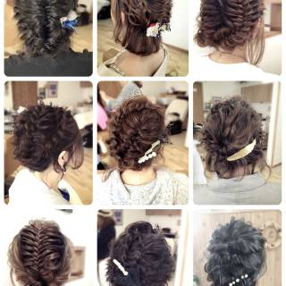ヘアアレンジ コンサバ まとめ髪 アップスタイル ヘアスタイルや髪型の写真・画像