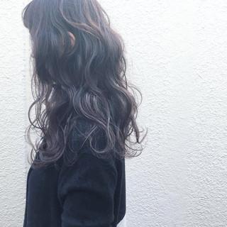 ゆるふわ 外国人風 前髪あり 暗髪 ヘアスタイルや髪型の写真・画像