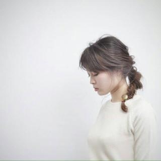 グラデーションカラー ゆるふわ ロング 大人かわいい ヘアスタイルや髪型の写真・画像