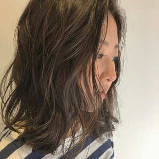 ナチュラル ミディアム ヘアアレンジ ボブ ヘアスタイルや髪型の写真・画像