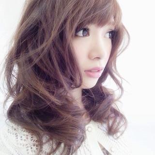フェミニン ガーリー モテ髪 愛され ヘアスタイルや髪型の写真・画像