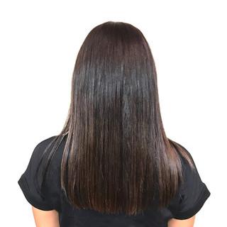 ストレート ロング 艶髪 透明感 ヘアスタイルや髪型の写真・画像