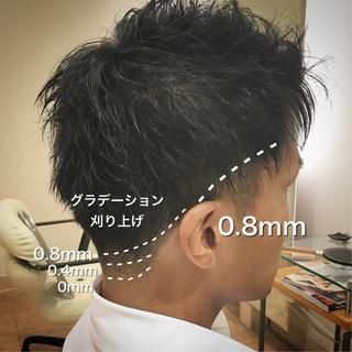 ショート 刈り上げ ストリート メンズ ヘアスタイルや髪型の写真・画像
