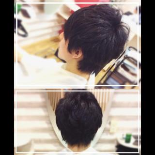 髪質改善 ショート メンズヘア メンズスタイル ヘアスタイルや髪型の写真・画像