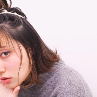 外国人風 簡単ヘアアレンジ ショート ヘアアレンジ ヘアスタイルや髪型の写真・画像