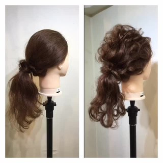 簡単 ゆるふわ 簡単ヘアアレンジ ヘアアレンジ ヘアスタイルや髪型の写真・画像