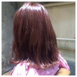 ヘアアレンジ ピンク 外国人風 ガーリー ヘアスタイルや髪型の写真・画像
