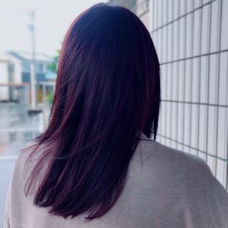 フェミニン ラベンダーカラー ラベンダーピンク ピンクラベンダー ヘアスタイルや髪型の写真・画像