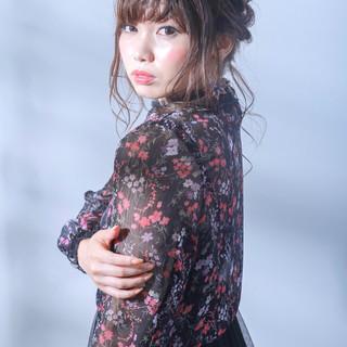 外国人風カラー 結婚式 成人式 エレガント ヘアスタイルや髪型の写真・画像