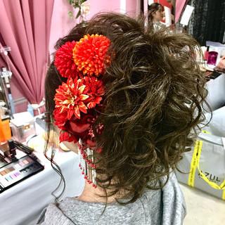 結婚式 アップスタイル ヘアアレンジ エレガント ヘアスタイルや髪型の写真・画像