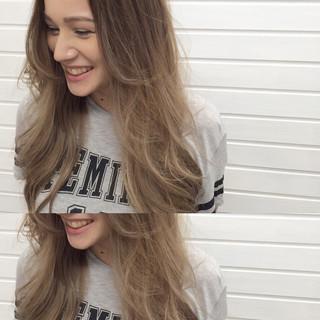 エレガント 秋 ロング 外国人風 ヘアスタイルや髪型の写真・画像