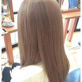 アッシュ ヘアスタイルや髪型の写真・画像