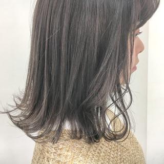 アッシュ モテ髪 グレージュ 外国人風カラー ヘアスタイルや髪型の写真・画像