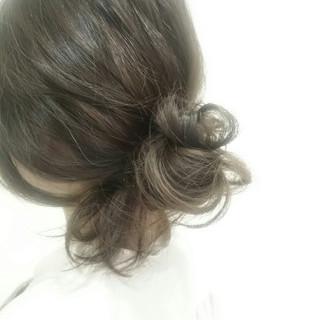 かっこいい 大人女子 ヘアアレンジ 簡単ヘアアレンジ ヘアスタイルや髪型の写真・画像
