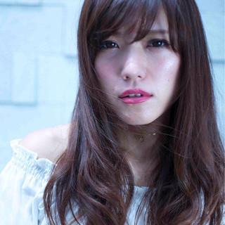 モテ髪 フェミニン 透明感 ゆるふわ ヘアスタイルや髪型の写真・画像