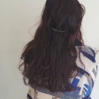 ロング ヘアアレンジ ナチュラル ガーリー ヘアスタイルや髪型の写真・画像 ヘアスタイルや髪型の写真・画像