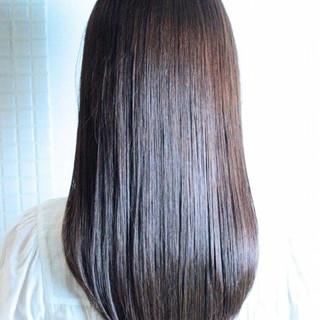 暗髪 大人かわいい ゆるふわ セミロング ヘアスタイルや髪型の写真・画像