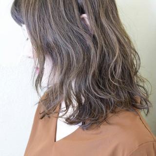 グラデーションカラー ガーリー ブリーチなし ベージュ ヘアスタイルや髪型の写真・画像