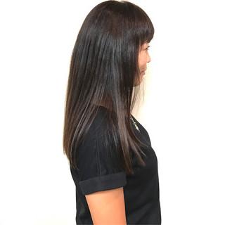 モテ髪 透明感 ロング ストレート ヘアスタイルや髪型の写真・画像
