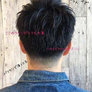 フェードカット メンズ 学生 デート ヘアスタイルや髪型の写真・画像