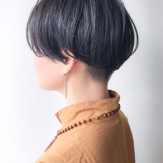 ハンサムショート 大人かわいい ショート デート ヘアスタイルや髪型の写真・画像 ヘアスタイルや髪型の写真・画像