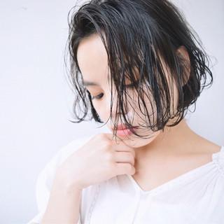 デート フェミニン アウトドア エフォートレス ヘアスタイルや髪型の写真・画像