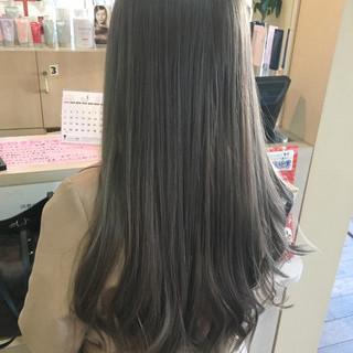 ハイライト 外国人風 グレージュ 外国人風カラー ヘアスタイルや髪型の写真・画像