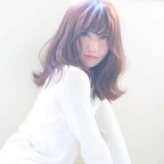 大人かわいい ガーリー ゆるふわ フェミニン ヘアスタイルや髪型の写真・画像