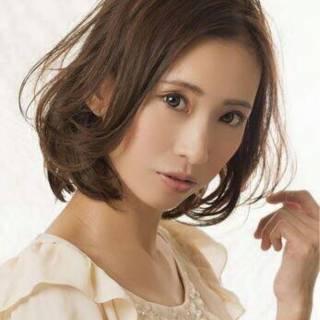 glue 愛され モテ髪 ミディアム ヘアスタイルや髪型の写真・画像 ヘアスタイルや髪型の写真・画像