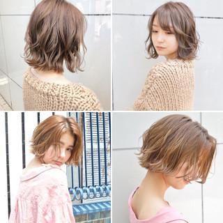 切りっぱなし アンニュイほつれヘア ナチュラル パーマ ヘアスタイルや髪型の写真・画像
