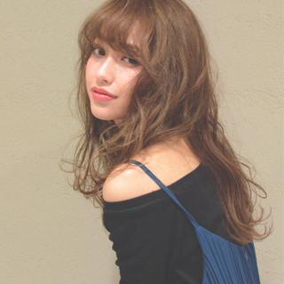 おフェロ アッシュベージュ ミルクティーベージュ ブラウンベージュ ヘアスタイルや髪型の写真・画像