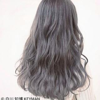 秋 ニュアンス ロング 冬 ヘアスタイルや髪型の写真・画像
