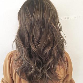 外国人風 ハイライト 透明感 秋 ヘアスタイルや髪型の写真・画像