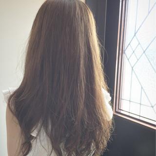 外国人風 パーマ ストリート ロング ヘアスタイルや髪型の写真・画像