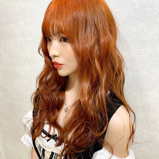 韓国ヘア ガーリー 外国人風 透明感カラー ヘアスタイルや髪型の写真・画像