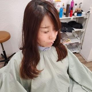 縮毛矯正ストカール ストカール 艶髪 縮毛矯正名古屋市 ヘアスタイルや髪型の写真・画像
