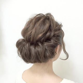 夏 セミロング 簡単ヘアアレンジ モテ髪 ヘアスタイルや髪型の写真・画像 ヘアスタイルや髪型の写真・画像