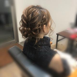 ボブ フェミニン ヘアアレンジ アップスタイル ヘアスタイルや髪型の写真・画像 ヘアスタイルや髪型の写真・画像