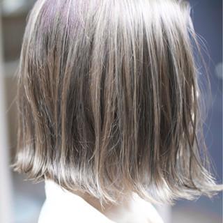 ガーリー バレイヤージュ ハイライト 外国人風カラー ヘアスタイルや髪型の写真・画像
