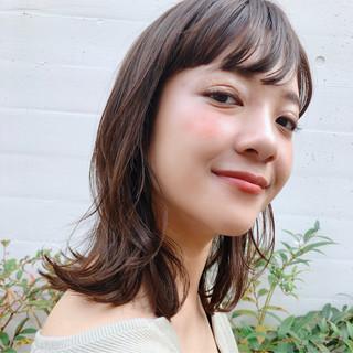 ウェーブ 女子力 ナチュラル デート ヘアスタイルや髪型の写真・画像