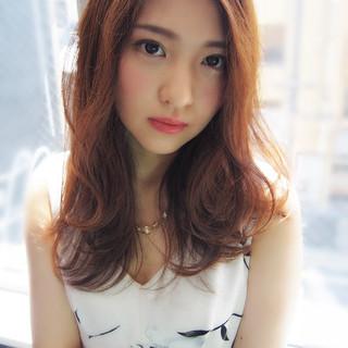 愛され グラデーションカラー モテ髪 パーマ ヘアスタイルや髪型の写真・画像