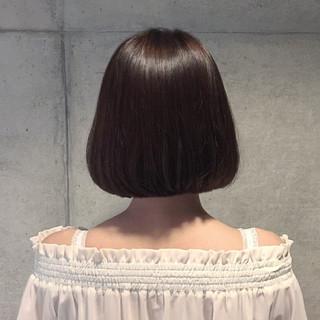 大人女子 暗髪 大人かわいい アッシュ ヘアスタイルや髪型の写真・画像