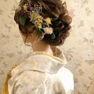 結婚式ヘアアレンジ 結婚式髪型 ロング ヘアアレンジ ヘアスタイルや髪型の写真・画像