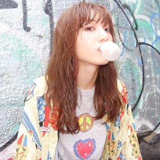 ストリート ハイライト アッシュ ピュア ヘアスタイルや髪型の写真・画像