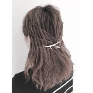 ストリート ウォーターフォール ヘアスタイルや髪型の写真・画像